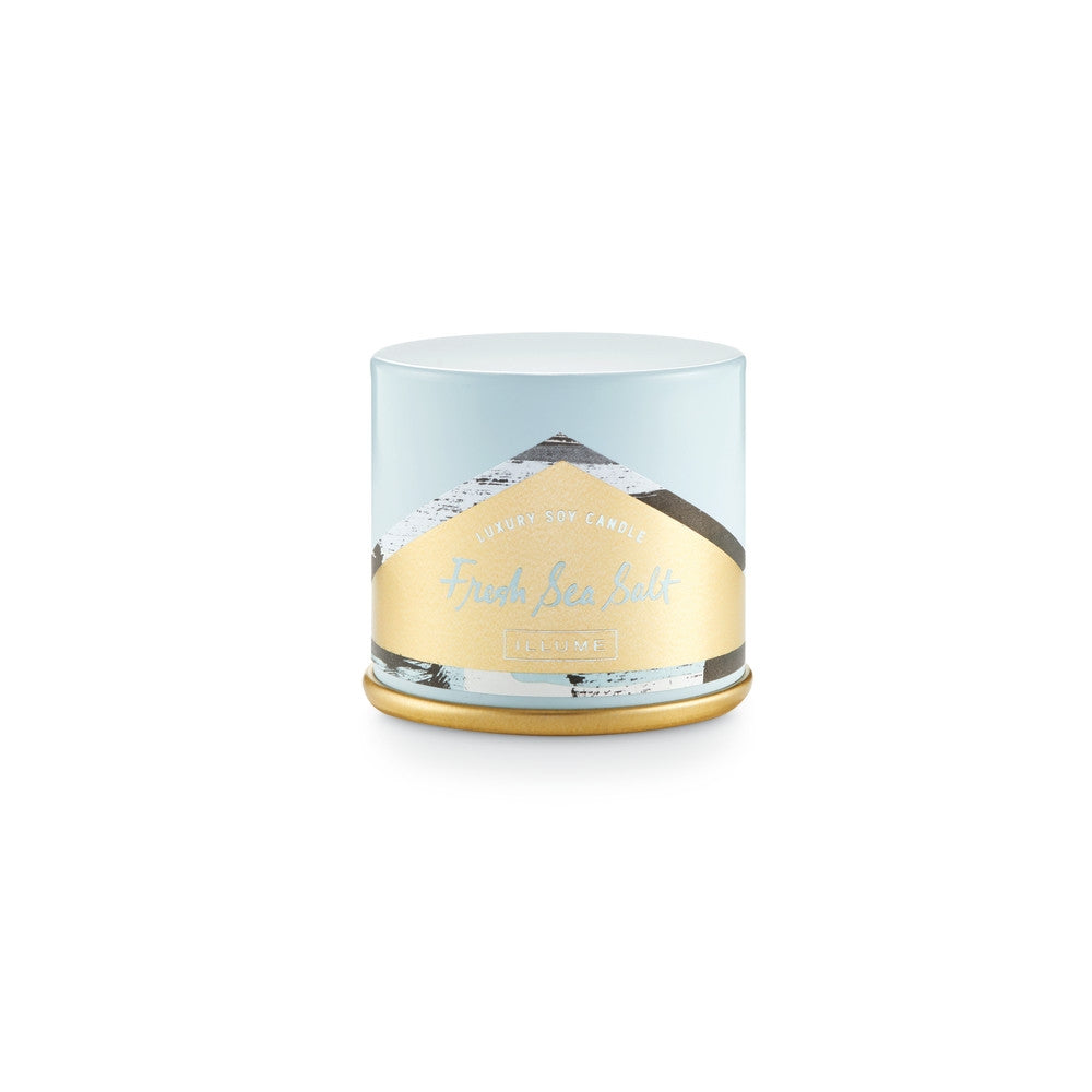 Fresh Sea Salt Illume Luxury Soy Candle