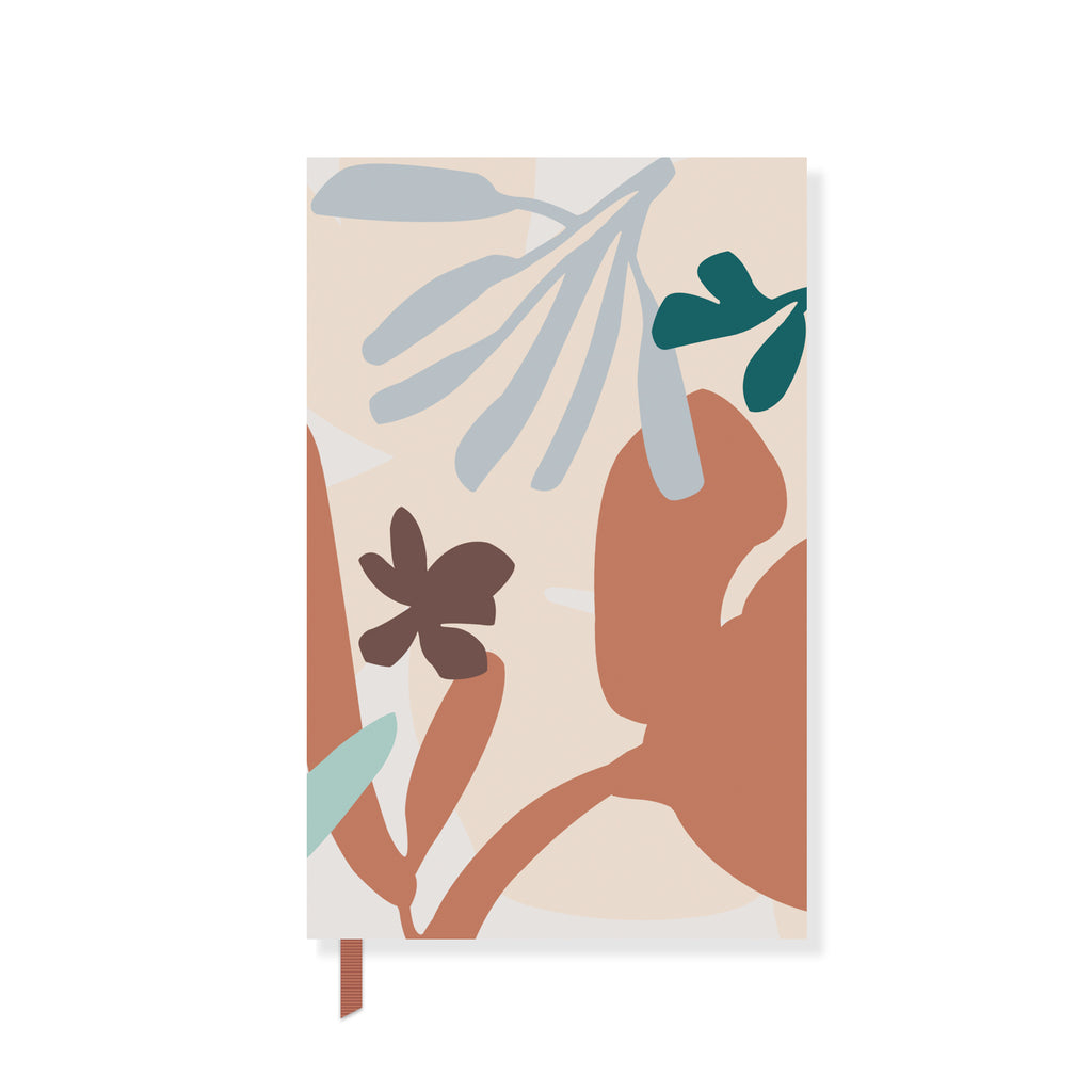 Graphic Plant Paperback Notebook
