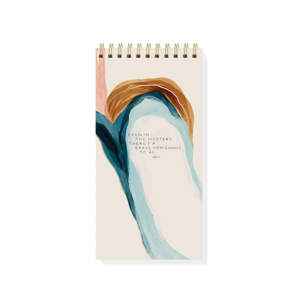 Mystery Tall Spiral Notepad