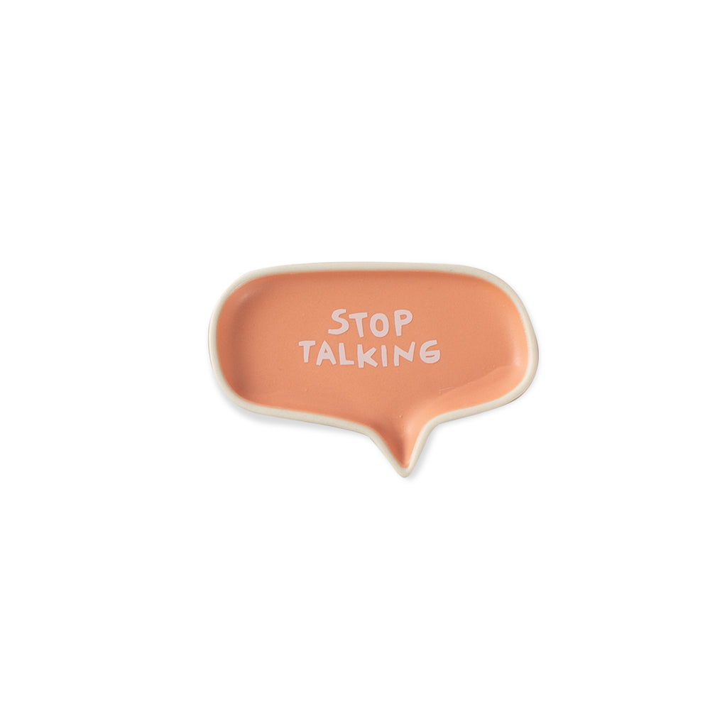 Stop Talking  - Conversation Tray