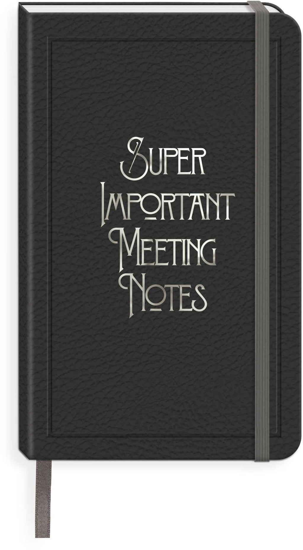 Super Important Meeting Notes Journal