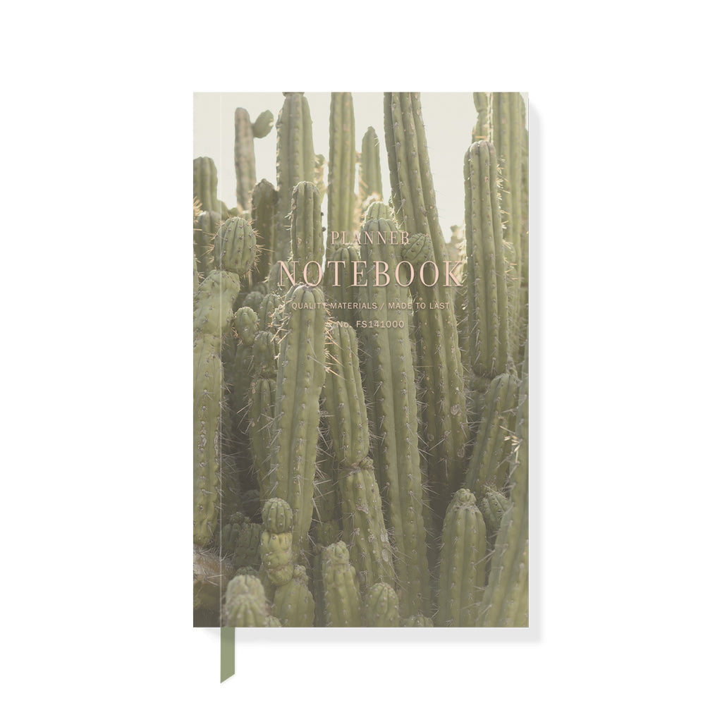 Tall Cactus Planner Notebook