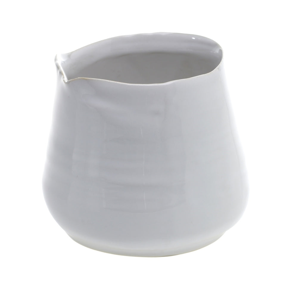 White Tegan Pot