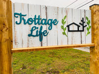 Trottage Life Store Sign