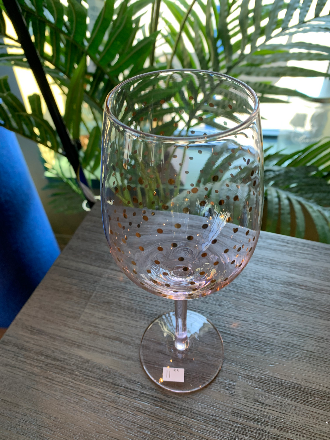 Pink Confetti Goblet