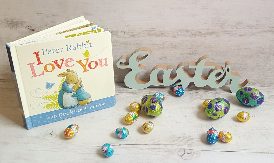 Easter Box with book