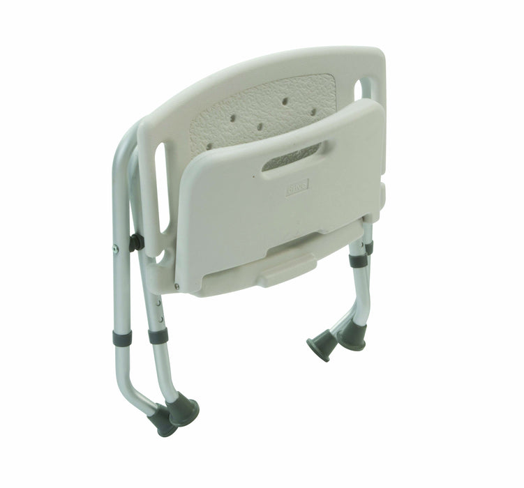 Folding Bath Bench With Back Retail Packed - Mobility2you - discount wholesale prices - from Drive DeVilbiss Healthcare