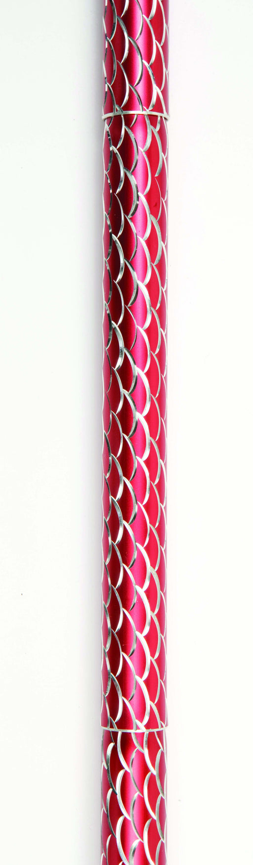 Folding Cane With Strap (Red Spiral Wave) - Mobility2you - discount wholesale prices - from Drive DeVilbiss Healthcare