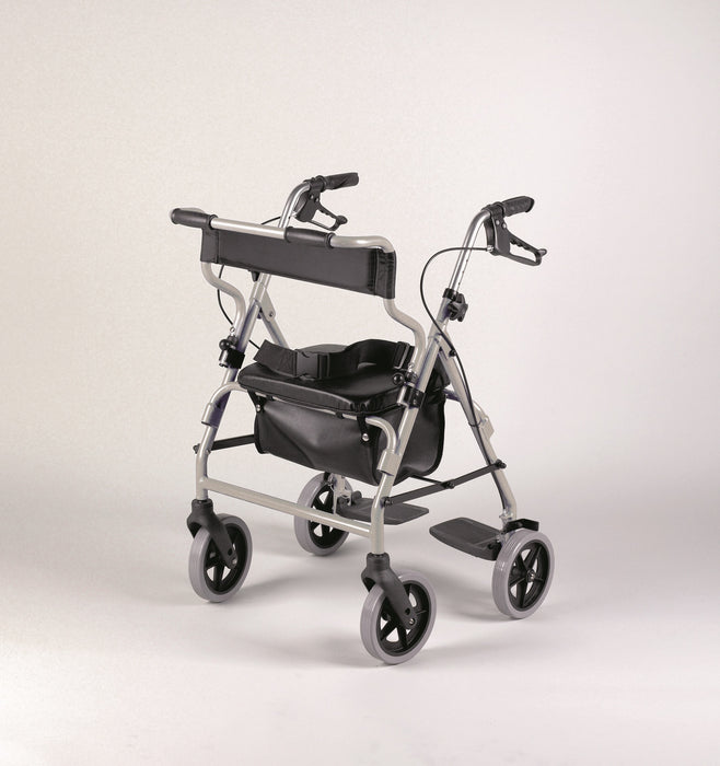 NRS 2 In 1 Rollator And Transit Chair