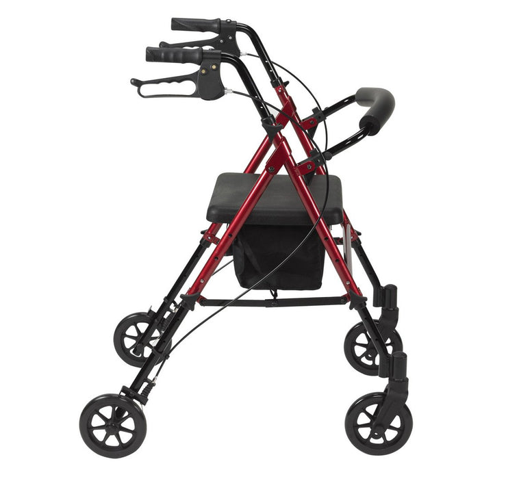 Seat Height Adjustable Four Wheel Rollator - Mobility2you - discount wholesale prices - from Drive Devilbiss Healthcare