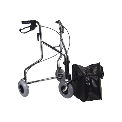 Chrome Tri Walker With Bag