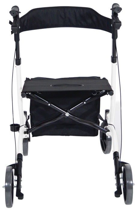 Deluxe Ultra Lightweight Folding 4 Wheeled Rollator