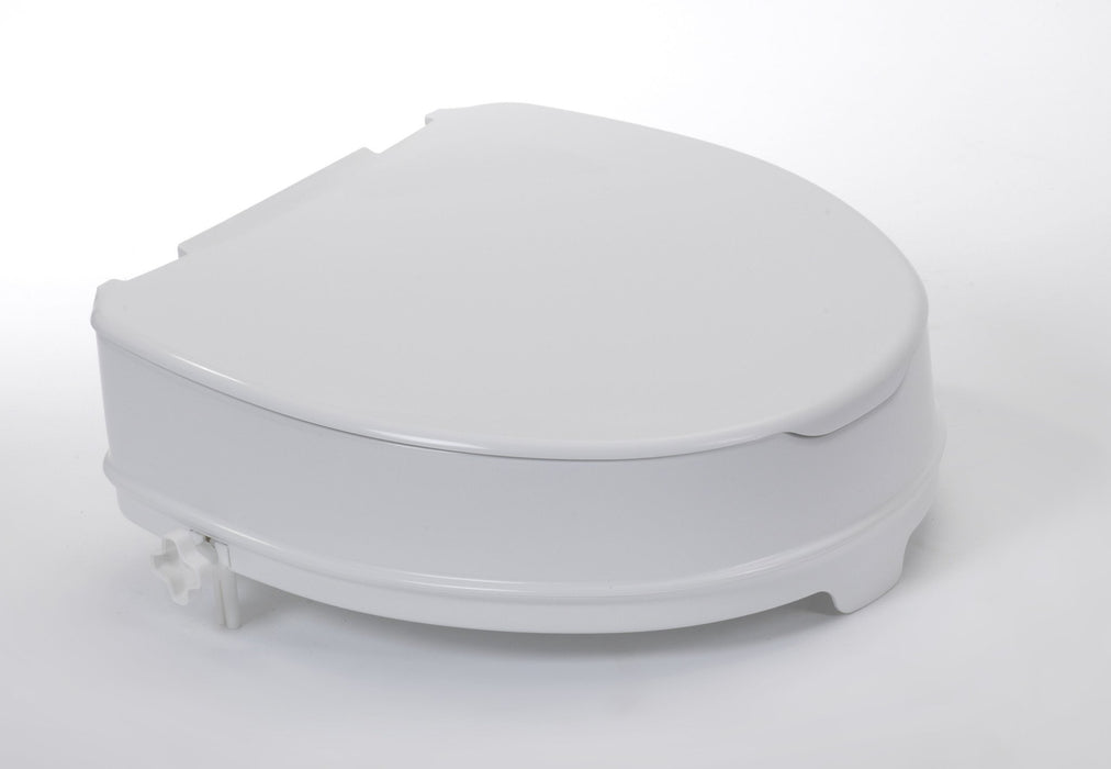 "Raised Toilet Seat 4"" With Lid - Mobility2you - discount wholesale prices - from Drive DeVilbiss Healthcare"