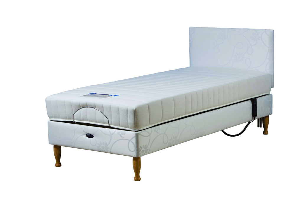 Casa Med Classic FS Bed with Side Rails and  Metal Mesh (Beech Finish) - Mobility2you - discount wholesale prices - from Drive DeVilbiss Healthcare