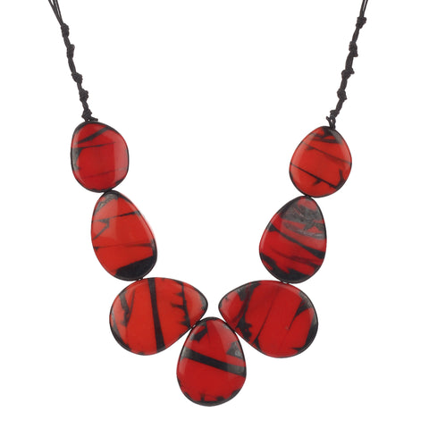 Resin Red Fashion Handmade Necklace