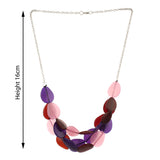 Resin Multicolor Multilayered Women Fashion Necklace