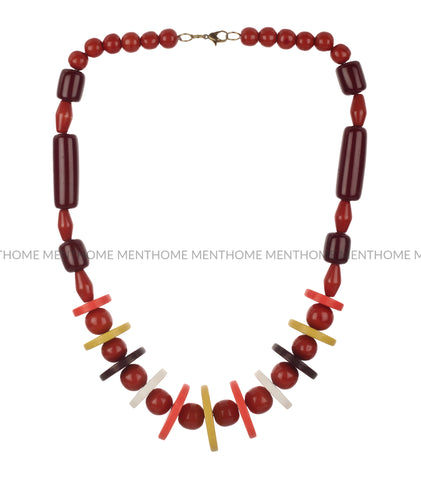 Western Wear Colorful Beads Handmade Necklace