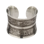 Fashion Silver plated Designer Brass Open Cuff Bangle Handmade Bracelet