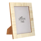 Handmade White Bone Photo Picture Vintage Imported Chic Frame | 7X5