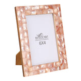 Handmade Chic Mother of Pearl Pink Pearl Picture Photo Frame | 6x4