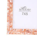 Handmade Chic Mother of Pearl Pink Pearl Picture Photo Frame | 7x5