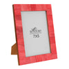 Handmade Red Bone Photo Picture Imported Chic Frame | 7X5