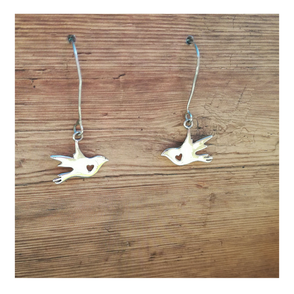 Flying Bird Earrings