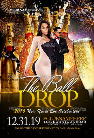 The Ball Drop Flyer