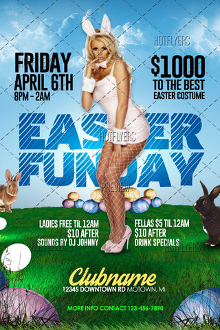 Easter Funday Flyer