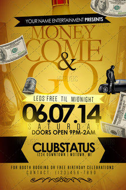 Money Come & Go Flyer