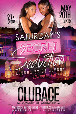 Secret Seduction Flyer