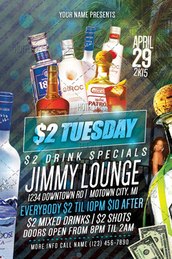 $2 Tuesday Flyer