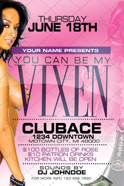 You Can Be My Vixen Flyer