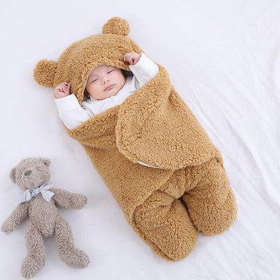Baby Swaddle Bear Blanket