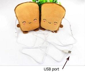 HANDTOAST - USB TOAST WARMER HEATED GLOVES