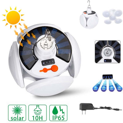 LED Solar Light Bulb Outdoor