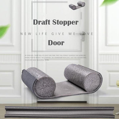 Door Bottom Seal Strip Stopper (combo 2pcs)