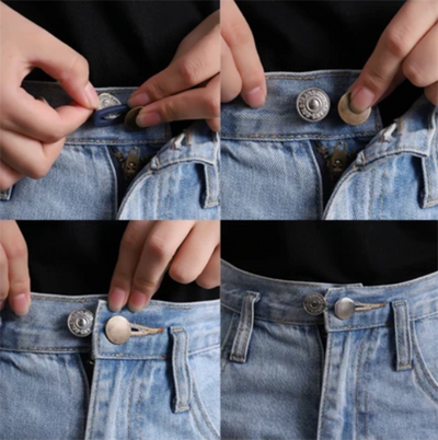 Retractable Jeans Button (combo 5pcs)