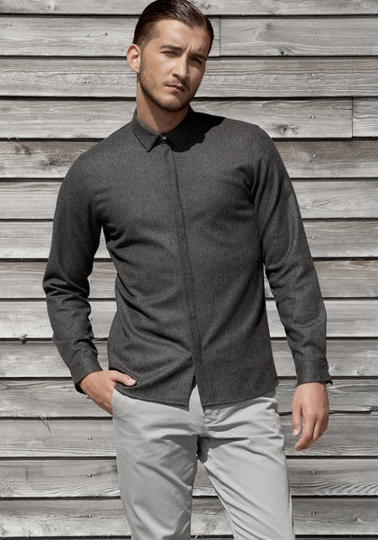 Ceremony Overshirt. Wool.