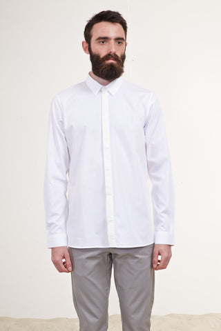 The White Shirt. Swiss Organic Cotton.