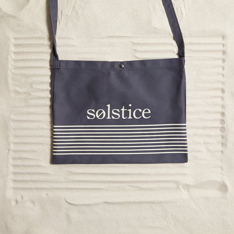 Stripe Musette Men Bag.