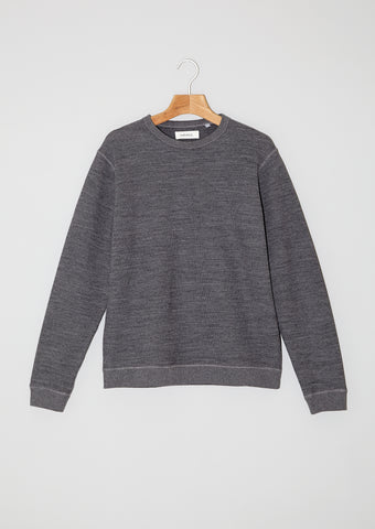 Wool Sweater Honeycomb. Granit.