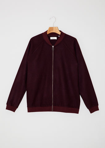 Bomber Jacket. Bordeaux.