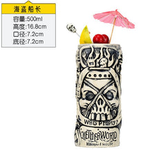 Load image into Gallery viewer, Hawaii Tiki Mugs Cocktail Cup Beer Beverage Mug Wine Mug Ceramic Easter Islander Tiki Mugs Great For Cocktail Drink