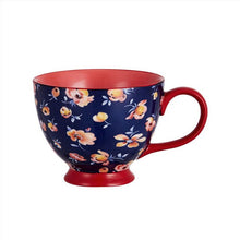 Load image into Gallery viewer, 400ML Fine bone china coffee cup and saucer , fashion design, zakka tazas cafe espresso cup, USA coffee mug ,top quality cups