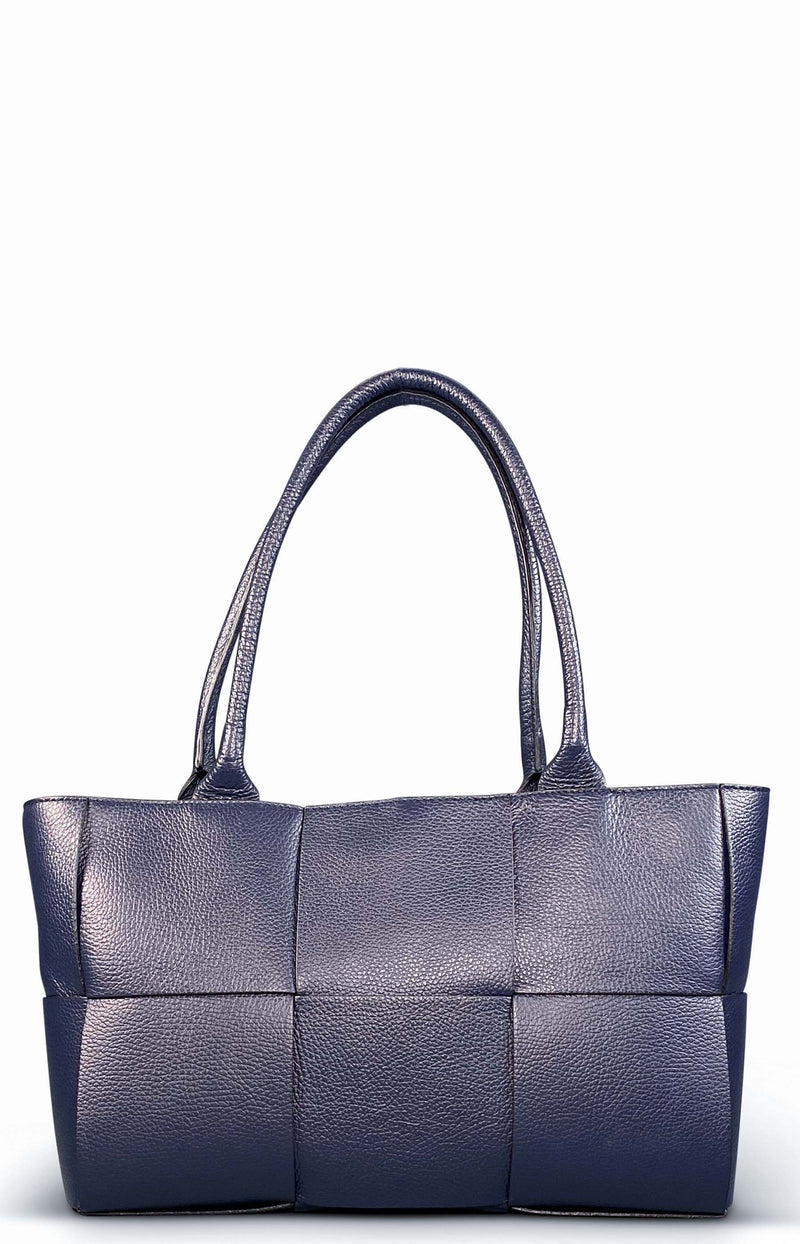 Navy Blue Shopper Bag