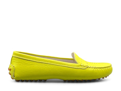 Acid Yellow Loafer Shoe Nimmo shoes