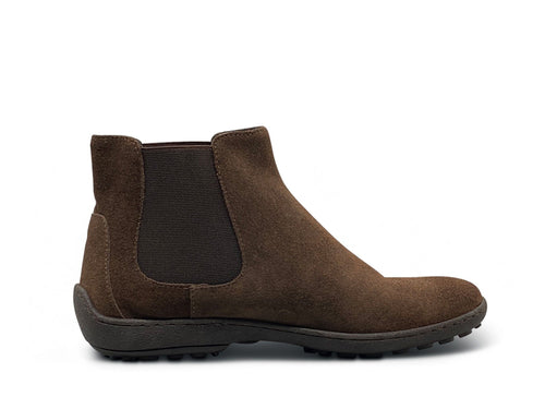 Brown Suede Ankle Boots Shoe Nimmo shoes