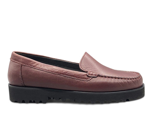 Burgundy Leather Loafer with Vibram Sole Shoe Nimmo shoes