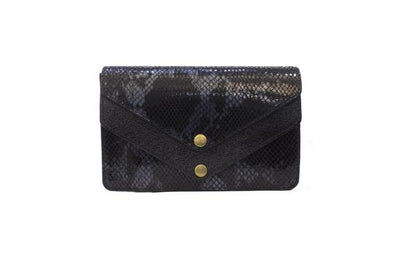 Envelope Style Clutch - Dark Blue Clutch Nimmo shoes